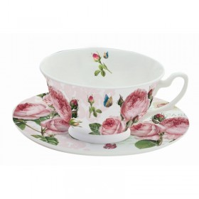 Set ceasca ceai ROMANTIC ROSES