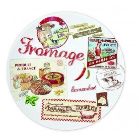 Set 4 farfurii FROMAGE